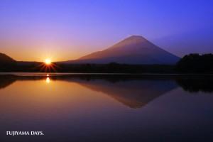 富士山日の出(ご来光)素材