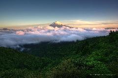 HDR富士山作品