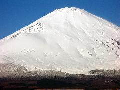 2008年12月の富士山